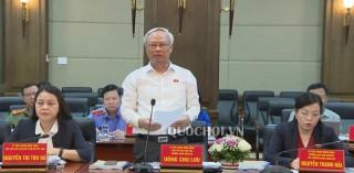 Phó Chủ tịch Quốc hội Uông Chu Lưu làm việc với UBND TP. Hải Phòng về công tác phòng, chống xâm hại trẻ em