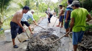 Tiên Thủy tập trung xây dựng nông thôn mới