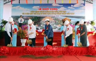 Chủ tịch Quốc hội dự Lễ khởi công Di tích lịch sử Lộ Vòng Cung Cần Thơ