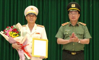 Đại tá Võ Hùng Minh giữ chức giám đốc Công an Bến Tre