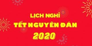 Thủ tướng chốt 7 ngày nghỉ Tết Nguyên đán Canh Tý 2020