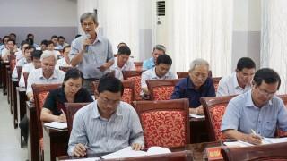 Đảng ủy Khối cơ quan - doanh nghiệp tỉnh sơ kết 9 tháng năm 2019