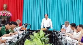 Họp Ban Tổ chức các hoạt động kỷ niệm 60 năm Ngày Bến Tre Đồng khởi