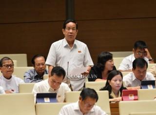 Ðại biểu Quốc hội đơn vị tỉnh góp ý dự thảo Luật Chứng khoán (sửa đổi)