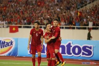 Đội tuyển Việt Nam vươn lên hạng 97 thế giới