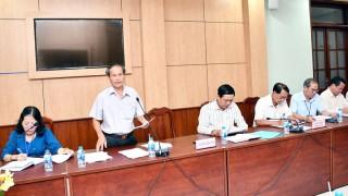Họp liên tịch chuẩn bị Kỳ họp thứ 14 HĐND tỉnh, khóa IX
