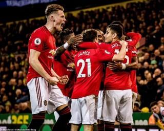 Vòng 10 Ngoại hạng Anh 2019/20:  MU nhảy vọt trên bảng xếp hạng