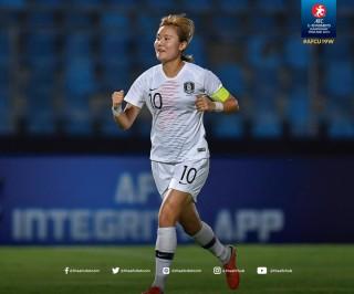 U19 nữ Hàn Quốc giành chiến thắng quan trọng trước U19 nữ Trung Quốc