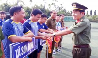 Giải Bóng đá mini kỷ niệm 69 năm Ngày thành lập lực lượng Công an xã