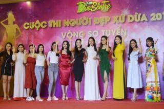 Sơ tuyển đợt 1 Cuộc thi Người đẹp xứ Dừa 2019