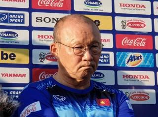 HLV Park Hang Seo: Nên cẩn thận khi đánh giá về các cầu thủ đối phương