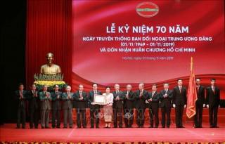Lễ kỷ niệm 70 năm Ngày truyền thống Ban Đối ngoại Trung ương