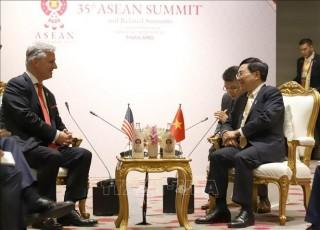 Phó Thủ tướng Phạm Bình Minh tiếp Cố vấn an ninh quốc gia Mỹ