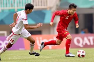 Đội tuyển Việt Nam thua đội tuyển UAE về đội hình