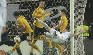 Lượt trận thứ tư bảng F Europa League:  Arsenal củng cố ngôi đầu bảng
