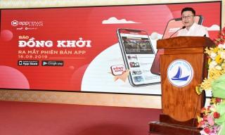 Báo Đồng Khởi trong cuộc cách mạng công nghệ 4.0