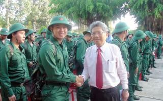 TP. Bến Tre hoàn thành tốt nhiệm vụ quân sự, quốc phòng địa phương