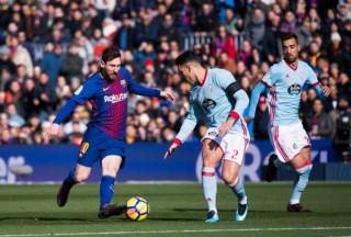 Vòng 13 La Liga:  Barcelona đánh bại Celta Vigo 4-1