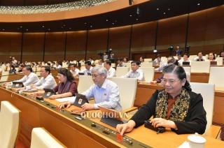 Quốc hội biểu quyết thông qua Nghị quyết về dự toán ngân sách nhà nước năm 2020
