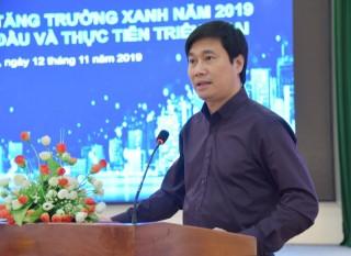 Hội thảo về xây dựng đô thị tăng trưởng xanh