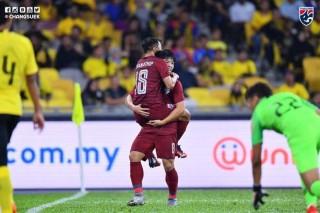 Lượt 4 bảng G vòng loại World Cup 2022:  Malaysia đánh bại Thái Lan