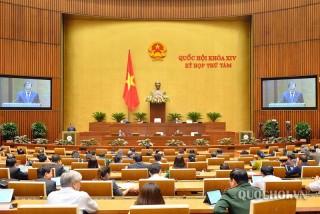 Thông cáo số 20 Kỳ họp thứ 8, Quốc hội khóa XIV