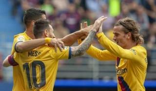 Tam tấu Messi, Suarez và Griezmann ghi bàn nhiều hơn 14 đội bóng