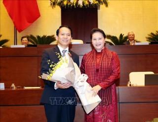 Ông Hoàng Thanh Tùng được bầu làm Chủ nhiệm Ủy ban Pháp luật của Quốc hội khóa XIV