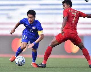 U22 Thái Lan 0-2 U22 Indonesia: Mất mặt nhà ĐKVĐ