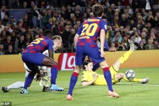 Cúp C1 - Champions League:  Barcelona đánh bại Dortmund 3-1