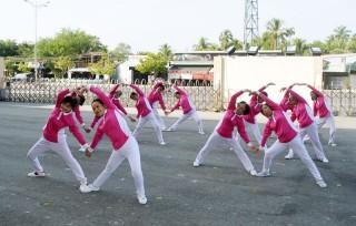Kỷ niệm 5 năm thành lập Câu lạc bộ thể dục dưỡng sinh Ao Sen
