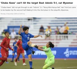 Báo Thái Lan thất vọng dù đội nữ đánh bại Indonesia với tỷ số 5-1