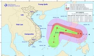 Chủ động ứng phó với bão KAMMURI