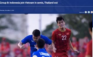 AFC khen ngợi tinh thần chiến đấu và bản lĩnh của U22 Việt Nam