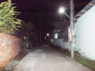 Thắp sáng tuyến đường giao thông nông thôn tại xã Bình Khánh Đông huyện Mỏ Cày Nam