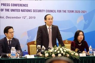 Việt Nam sẵn sàng cho vai trò Chủ tịch Hội đồng Bảo an Liên hợp quốc vào tháng 1-2020