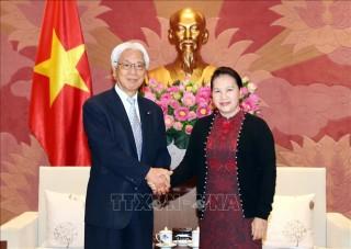 Chủ tịch Quốc hội Nguyễn Thị Kim Ngân tiếp Phó Chủ tịch Thượng viện Nhật Bản
