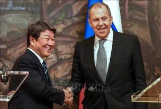 Ngoại trưởng Nga, Nhật Bản thảo luận vấn đề tranh chấp lãnh thổ