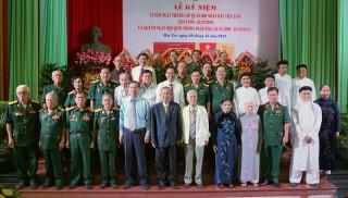 Kỷ niệm 75 năm Ngày thành lập Quân đội nhân dân Việt Nam và 30 năm Ngày hội Quốc phòng toàn dân