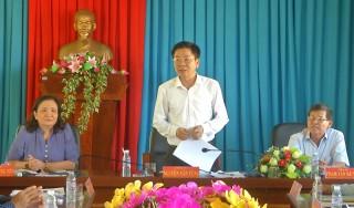 Ban Tổ chức Trung ương làm việc với Huyện ủy Thạnh Phú