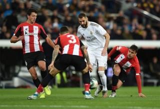 Vòng 18 La Liga:  Real Madrid bị Athletic Bilbao cầm chân