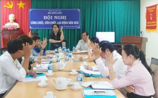 Báo Đồng Khởi hội nghị cán bộ, viên chức năm 2019