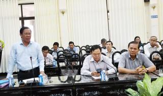 Đóng góp dự thảo Văn kiện trình Đại hội XI Đảng bộ tỉnh