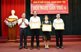 Đảng ủy Khối Cơ quan - Doanh nghiệp tỉnh tổng kết công tác năm 2019