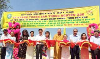 Phú Đức khánh thành cầu Cồn Dơi hơn 2,3 tỷ đồng