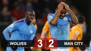 Wolves 3-2 Man City: Thầy trò Guardiola giương cờ trắng ở cuộc đua với Liverpool
