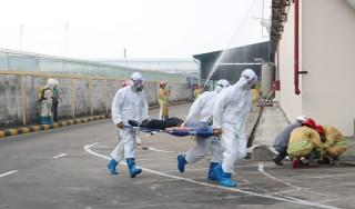 Diễn tập ứng phó sự cố hóa chất cấp tỉnh năm 2019