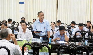 Lấy ý kiến đóng góp dự thảo Văn kiện trình Đại hội XI Đảng bộ tỉnh