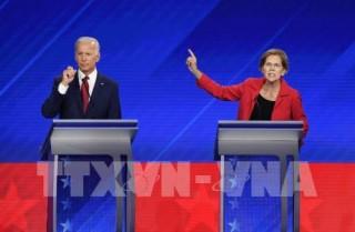 Bầu cử Mỹ 2020: Ứng cử viên E.Warren công bố kết quả gây quỹ tranh cử