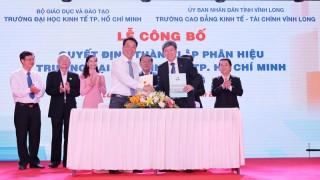 Thành lập phân hiệu Trường Đại học Kinh tế TP. Hồ Chí Minh tại tỉnh Vĩnh Long